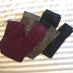 Aerie large leggings. 3 pairs